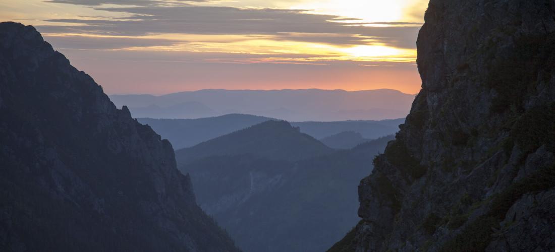 Wschód w Tatrach